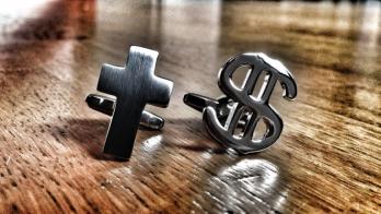 00754 Church and Money Cufflinks 1024x1024