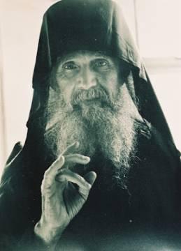 last photo of Geronda in Philotheou