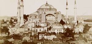 Agia Sophia Old Photography