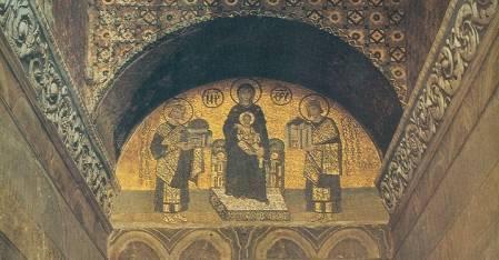 Agia Sofia Constantin Justinian