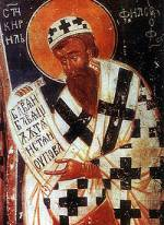 St Cyril the Philosopher