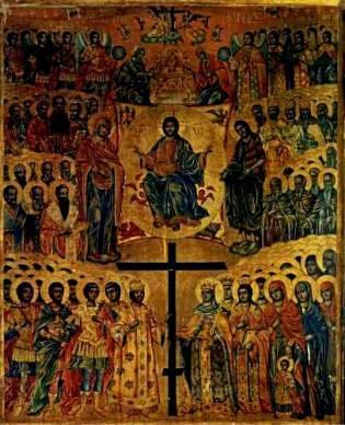 Christus Alle Heiligen rond het Groot en Heilig Kruis