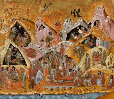 the dormition of saint sabbas