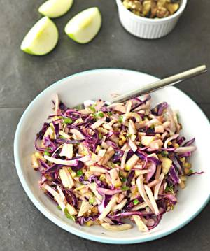 cabbage apple salad2