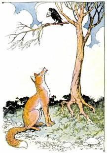 fox crow tree