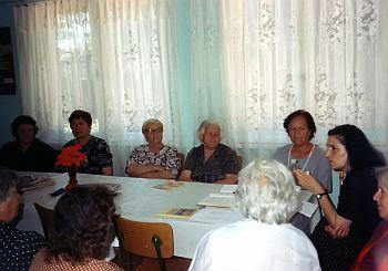 Членове на Основната организация на хората с увреждания в Радомир