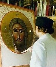 архимандрит Зенон рисува