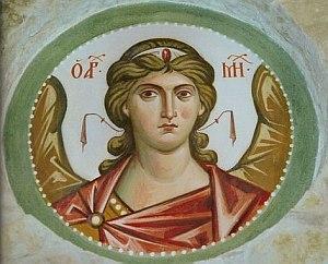 архангел Михаил, фреска