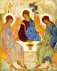Старозаветна Троица, Андрей Рубльов