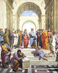 Атинската школа, Рафаел
