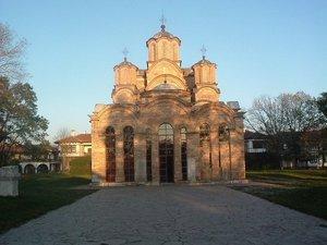 манастирът Грачаница, Косово