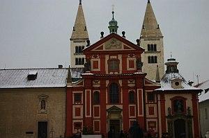 храмът на св. Георги в Прага