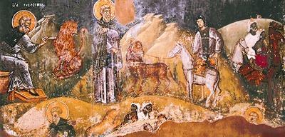 St Gerasimus of the Jordan