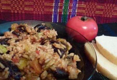 ориз сини сливи