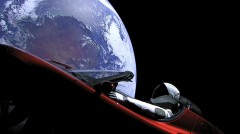 tesla spacex starman falcon heavy rocket elon musk